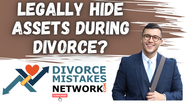 hide assets during divorce Divorce Finances -