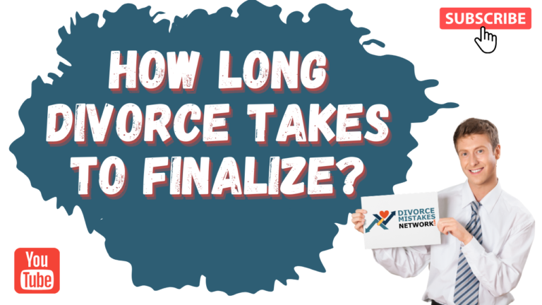 how long does divorce take to finalize