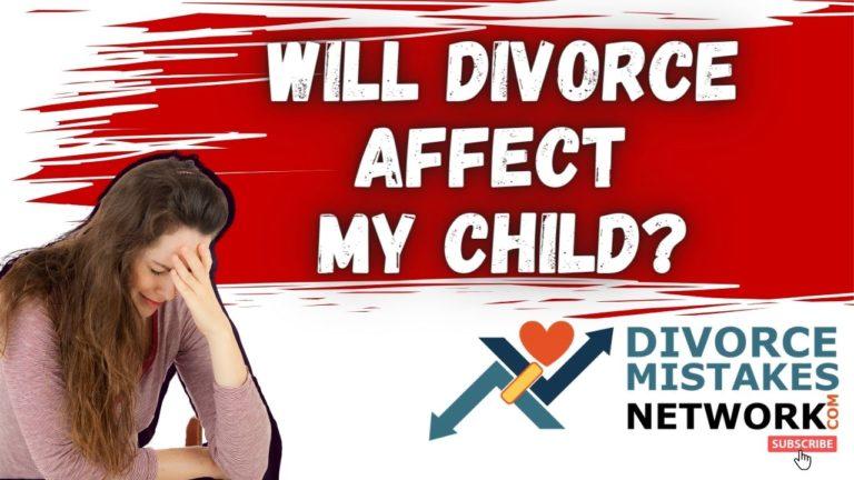 divorce affect on child