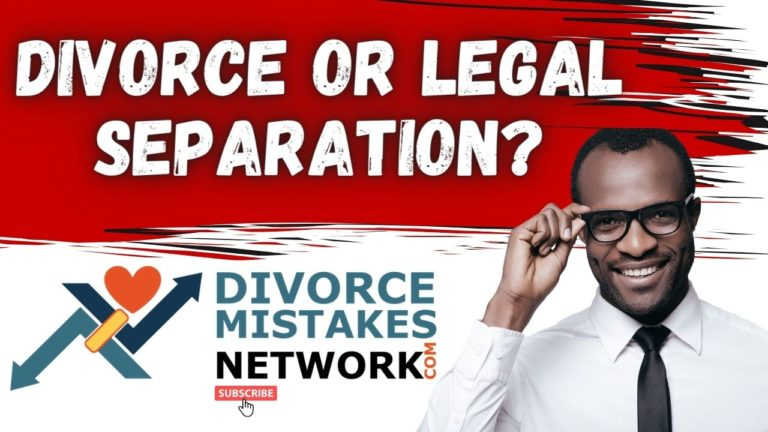 legal separation and divorce