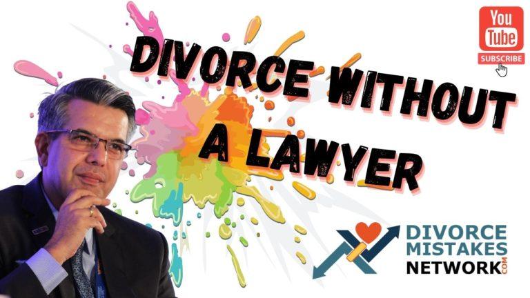 divorce without a lawyer,pro se litigant