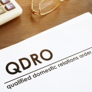QDRO court order