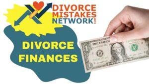 divorce and credit and finances