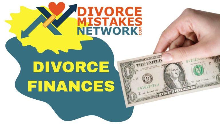 divorce finances and credit