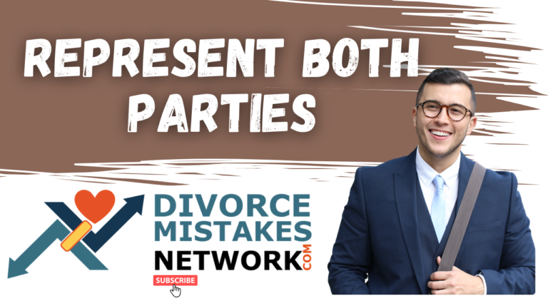 Can an Attorney Represent Both Parties in a Divorce?